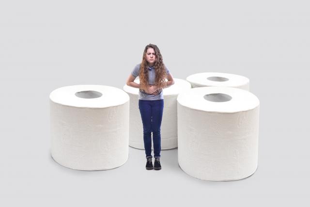 トイレ退出防止