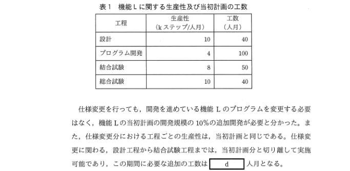 平成31年春期 午後試験 問6-2